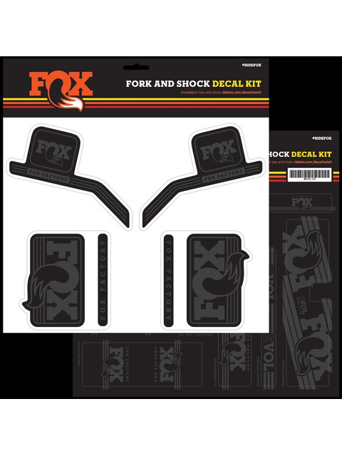 Fox Racing Shox Decal 2016 AM Heritage Fork and Shock Kit stealth black